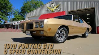 Download 1970 Pontiac GTO Ram Air III 400 5-Speed Conversion and Upgrades at V8 Speed and Resto Shop Video