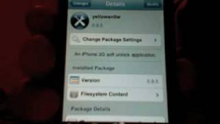 Download Unlock o Desbloqueo Gratis iPhone 3G Cualquier Sim Video