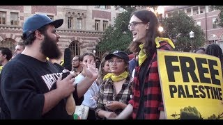 Download Protesters Try to Stop Ben Shapiro From Speaking at USC Video