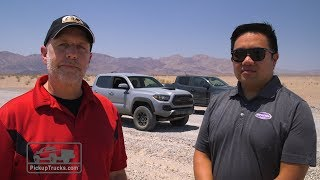 Download 2017 Chevrolet Colorado ZR2 Vs. 2017 Toyota Tacoma TRD Pro Video