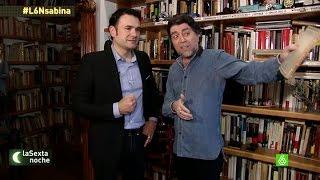 Download Joaquín Sabina nos enseña su casa mientras habla sobre sus aficiones - laSexta Noche Video