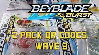 Download Beyblade Burst Hasbro QR Codes Wave 3 Two Pack for Beyblade Burst Hasbro App April 9th Video