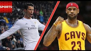 Download Who is the Better Athlete: Cristiano Ronaldo or LeBron James? Video