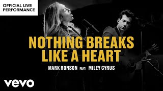 "Download Mark Ronson ft. Miley Cyrus - ""Nothing Breaks Like a Heart″ Official Performance 