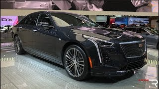 Download 2019 Cadillac CT6 V-Sport 4.2TT – Redline: First Look – 2018 NYIAS Video