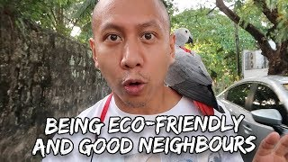 Download Being Eco-Friendly & Having Good Neighbours | Vlog #313 Video