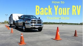 Download How to back up an RV / Trailer ″tail swing″ Video