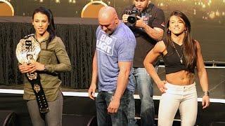 Download Claudia Gadelha Tells Joanna Jedrzejczyk That Her Boyfriend Isn't Doing His Job (UFC 200) Video