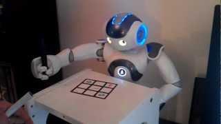 Download NAO Robot plays Tic Tac Toe with human - Prototype Video