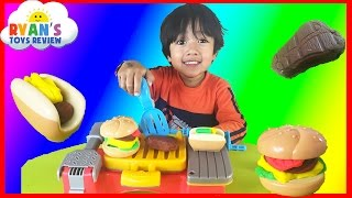 Download Play Doh Cookout Creations Playdough make Hotdogs Hamburgers Chicken with Play-doh Video