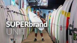 Download SUPERbrand UNIT Surfboard Review Video