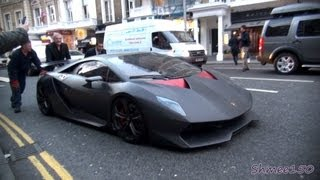 Download Lamborghini Sesto Elemento £2.3m Hypercar - First time in London Video