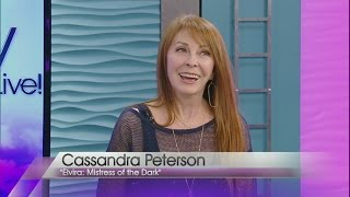 Download Cassandra Peterson, aka Elvira, stops by Valley View Live! Video