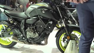 Download New Yamaha MT-07 - Closer look   EICMA 2017 Video