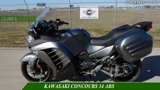Download 2016 YAMAHAFJR1300ES VS KAWASAKI CONCOURS 14 ABS-specifications Video