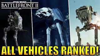 Download Every Vehicle Ranked from Worst to Best! - Star Wars Battlefront 2 Video