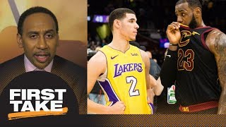 Download Stephen A. speculates what LeBron James told Lonzo Ball after Lakers-Cavaliers | First Take | ESPN Video