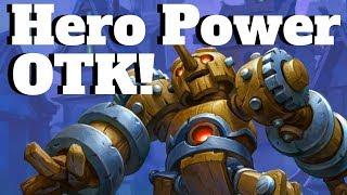 Download Clockwork Automaton OTK! Hunter Hero Power OTK! [Hearthstone Game of the Day] Video