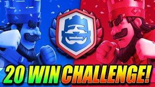 Download LAST CHANCE - 20 WIN CRL CHALLENGE!! - LIVE - Clash Royale Video
