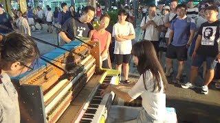 Download 피아노배틀 실사판 혼자 다 연주함 (문아람) Video