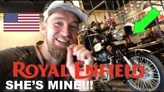 Download I BOUGHT A ROYAL ENFIELD in INDIA!! (FINALLY!!) Video