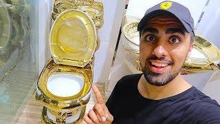 Download 24 KARAT GOLD TOILET !!! Video