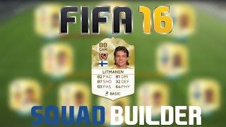 Download FIFA 16 Squad Builder | 500k Litti Joukkue Video