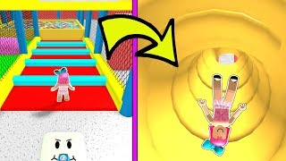 Download Roblox: SLIDING DOWN 999,999 INCHES INTO A BALL PIT!!! Video