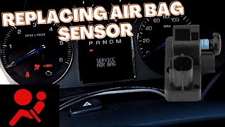 Download Escalade Front Impact Sensor Replacement B0083 B0084 Service Air Bag. Video