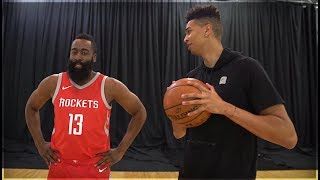 Download 1v1 BASKETBALL vs. NBA SUPERSTAR JAMES HARDEN! NBA LIVE 18 SURPRISE! Video
