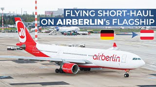 Download THE FINAL AIR BERLIN TRIPREPORT | Air Berlin (ECONOMY) | Airbus A330-200 | Dusseldorf - Vienna Video