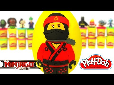 Stream Lego NINJAGO MOVIE Play-Doh Surprise Eggs! Opening Surprise ...