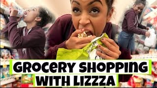 Download STEALING FOOD?! GROCERY SHOPPING WITH LIZZZA | Lizzza Video