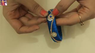 Download How To Design Silk Thread Kada Beautiful Kangan Bangle DIY At Home With Me Step by Step Video