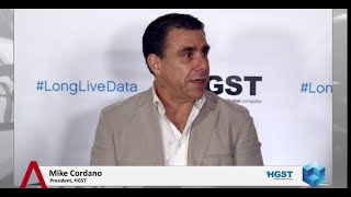 Download Mike Cordano - HGST Press & Industry Analysts Briefing (2014) - theCUBE Video
