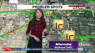 Download 215 near airport to be closed nights of Jan. 16, 17 Video