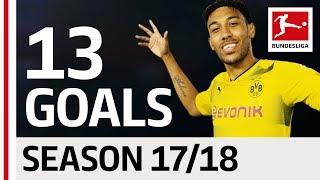Download Pierre-Emerick Aubameyang - All Goals so far 2017/18 Video