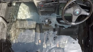 Download Sealing a car and Filling with WATER but still DRIVES Video