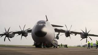 Download Mission Impossible Tom Cruise and the Airbus A400M F-WWMZ Video