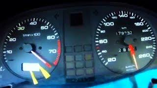 Download Audi 80 VR6 Turbo Brutal Acceleration 0-300 Video