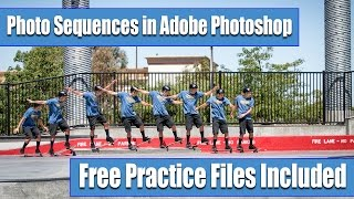 Download Tutorial action photo sequence in Adobe Photoshop - photoshop cc tutorial Video