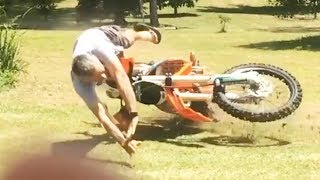Download How NOT TO RIDE a Dirt bike - Crashes & Fails 2018 Video
