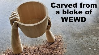 Download I Carve Hands holding a Bucket from a bloke of Wewd (Part 1) Video