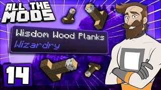Download Minecraft All The Mods #14 - Wisdom Wood Video