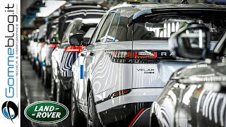 Download 2020 Range Rover - PRODUCTION (Jaguar Land Rover Plant) Video