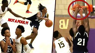 Download Chino Hills NEW PG Anthony Bell FLEXING VS Boogie Ellis! Big O Dunks On His OWN TEAMMATE! 😂 Video