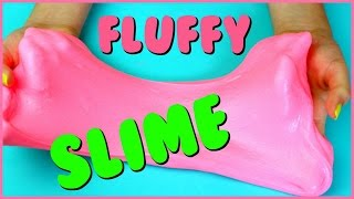 Download How To Make FLUFFY SLIME! DIY Fluffy Bubblegum Slime ! Video