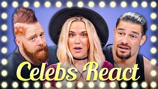 Download WWE Superstars React to Try to Watch This Without Laughing or Grinning Video