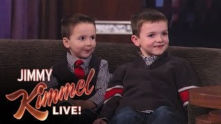 Download Jimmy Kimmel Interviews YouTube Challenge Halloween Candy Brothers Jake and CJ Video