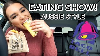 Download TACO BELL DRIVE THRU MUKBANG | EAT & CHAT WITH ME Video